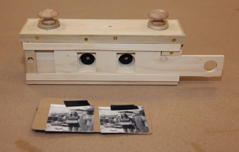 35mm stereo pinhole camera and test images