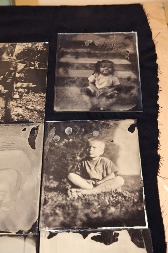Josh Torres glass plate negatives